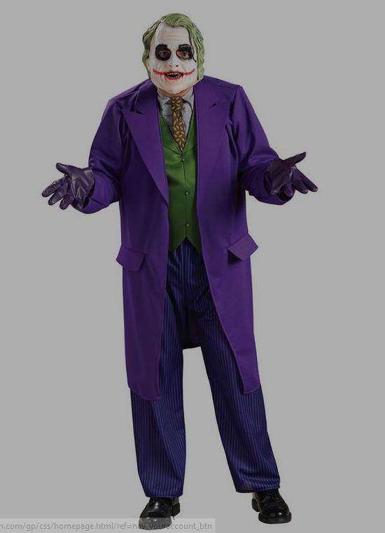 Batman the Dark Knight Joker Deluxe Costume