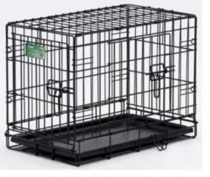 Midwest iCrate Double Door Home Training Travel Series Dog Crate