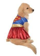 Supergirl Dog Costume