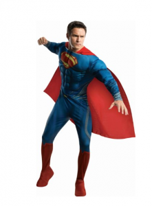 Mens Superman Costume
