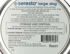 Bayer-Seresto Flea Tick Collar large dog
