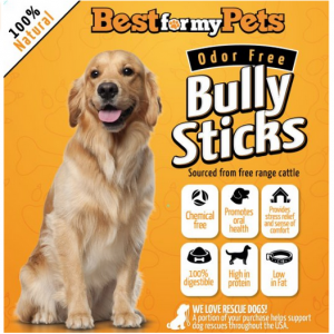 Best for My Pets Bully Sticks