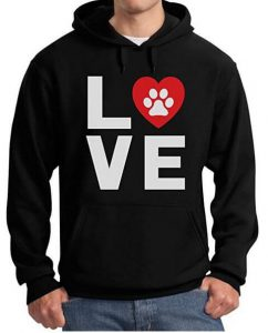 gifts-for-dog-lovers-black-hooded-sweatshirt-for-men