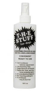 The Stuff 16 oz. detangler spray for dogs