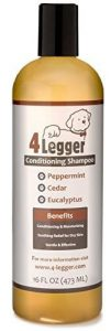 Best Dog Shampoo for Itchy Skin 4 Legger Certified Organic Dog Shampoo with Conditioner Review