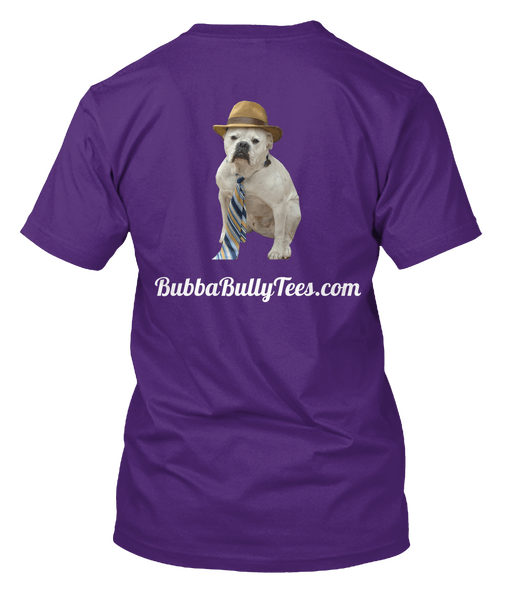Bulldog T Shirt My Best Friend is a Bully tee back